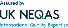 Assured by NEQAS | International Quality Expertise