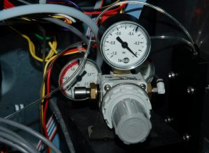 A picture of the internal components of the BV1 Plasma Viscometer